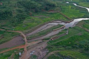 Études et contrôle des travaux d'aménagement du marais de la Ruvubu de 800 ha, commune de Muhanga