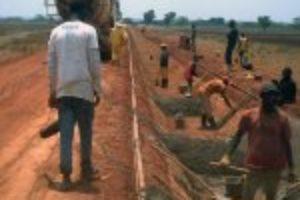 Contrôle des travaux d'aménagements hydro-agricoles de 1000 ha de plaines rizicoles à Koundian